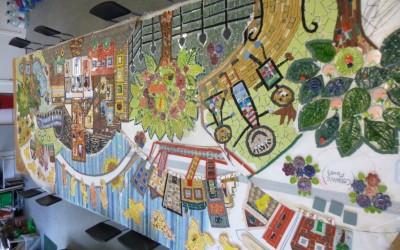 Fenstanton school mosaic
