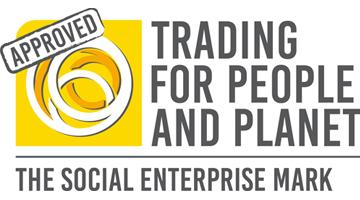 We're proudly social enterprise marked